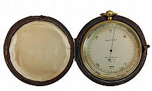Antique Short & Mason Aneroid Barometer