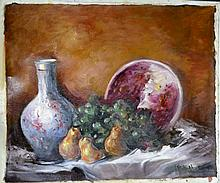 #1 Violetta de Koszeghy Oil on Canvas Painting