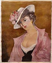 #15 Violetta de Koszeghy Oil on Canvas Painting