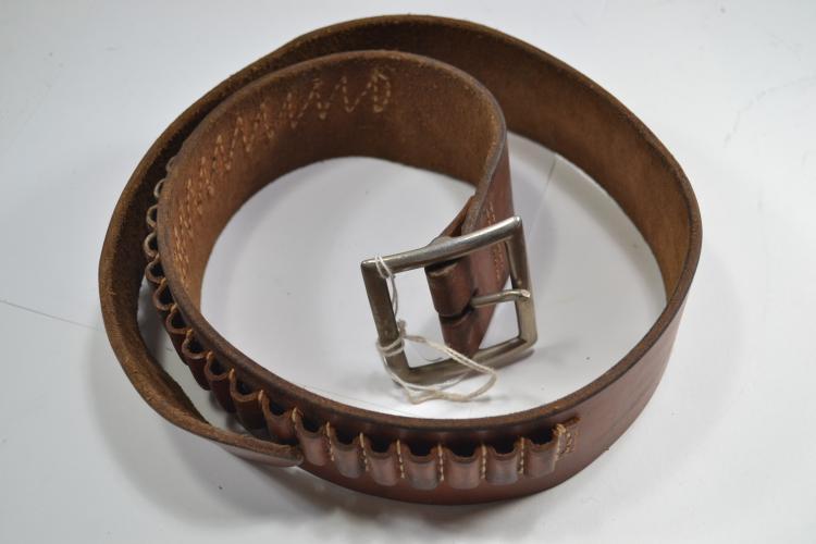 Vintage Hunter 122 Sm Leather Bandolier Belt