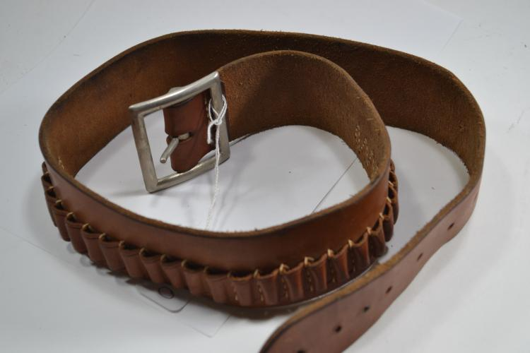 Vintage Hunter 122 Sm Leather Bandolier Belt