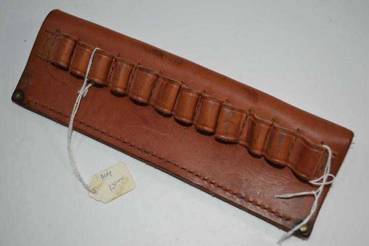 Vintage Hunter 545 12 Round Slip Through Ammo Belt
