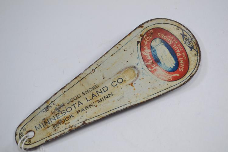 Antique Minnesota Land Co St. Paul Shoes Advertising Shoe Horn