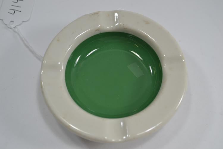 11 L Syracuse China Porcelain Ashtray