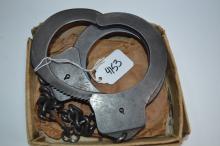 Harvard Lock Company Leg Iron Shackles With Key
