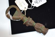 Antique Wilton Cast Iron Figural Bottle Opener