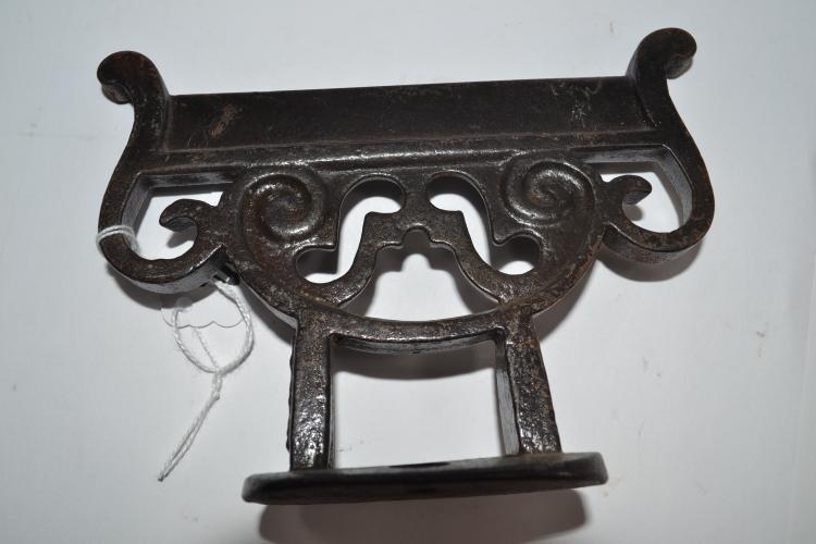 Antique Decorative Cast Iron Boot Scraper