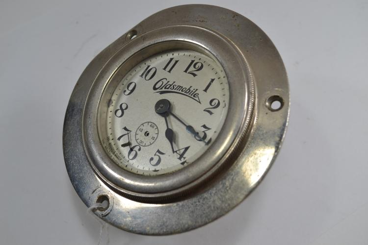 Vintage Ansonia Clock Company Oldsmobile In-Dash Clock