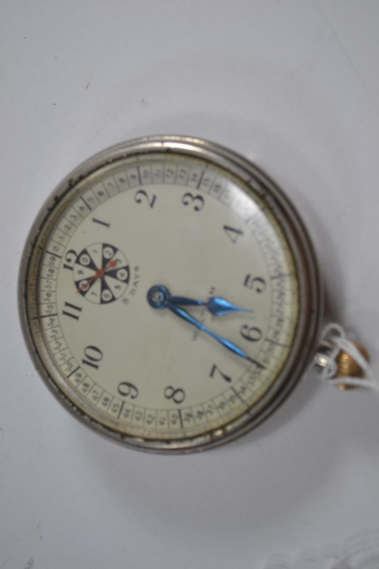 Vintage Waltham Ks 6040 Manual Wind Clock