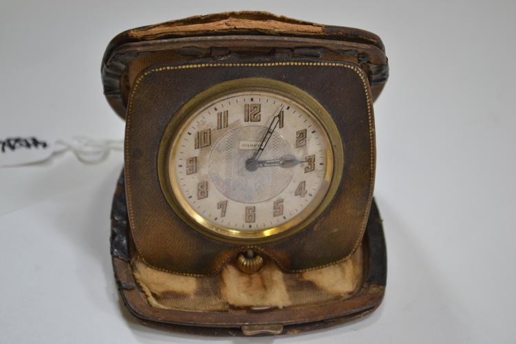 Antique Parfis Pocket Watch Company 6 Jewel Pocket Watch In Modular Case