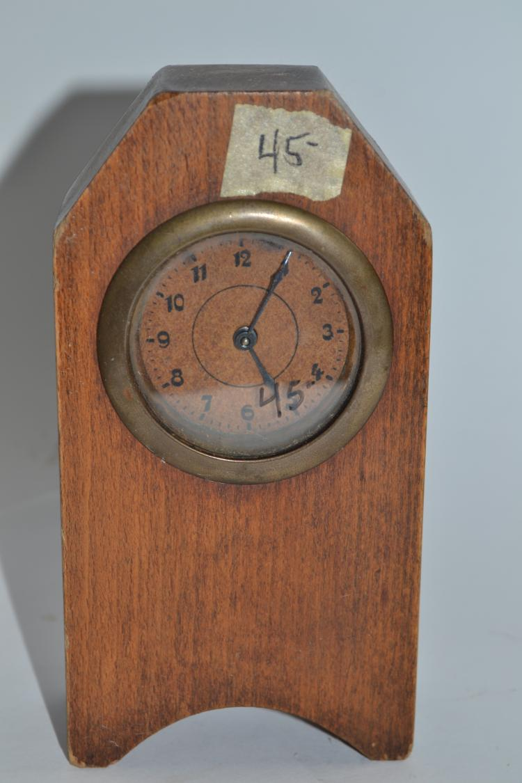 Antique Unmarked Desk Clock