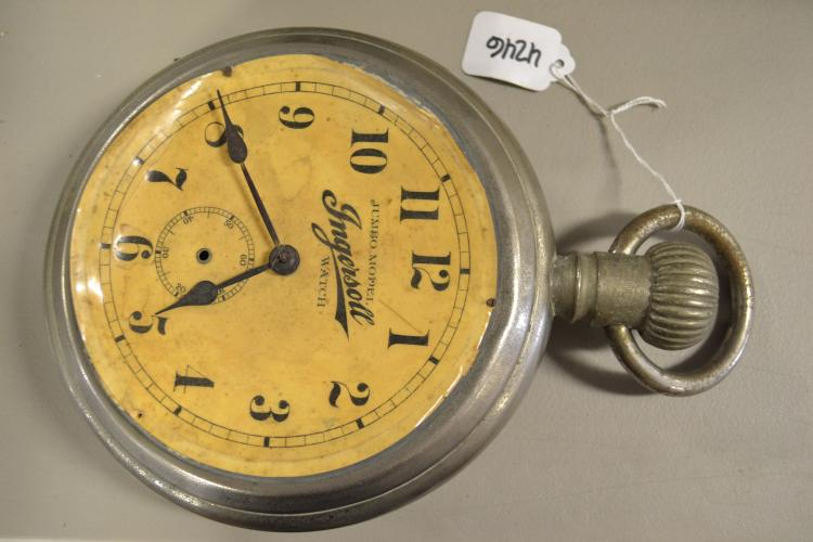 Antique Ingersoll Watch Jumbo Model Salesman Sample
