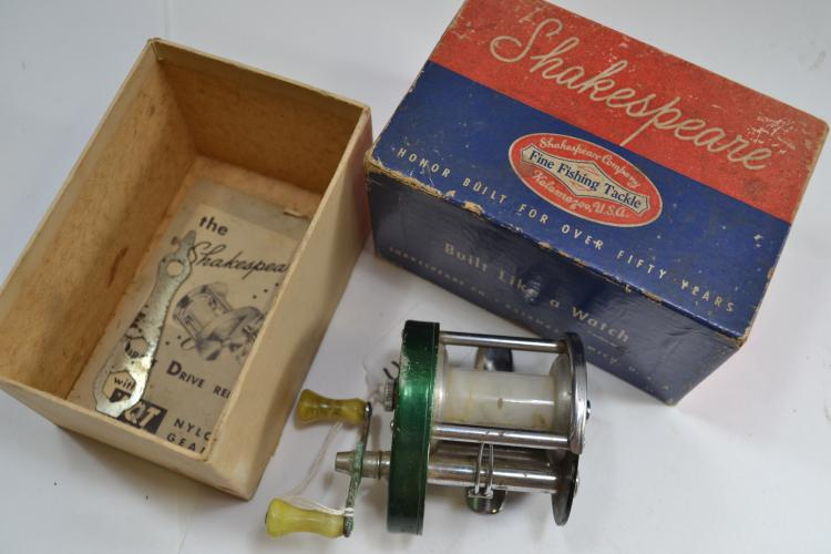 Vintage Shakespeare Direct Drive Number 1926 Model Fk Bait casting Fishing Reel