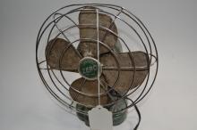Vintage Zero Model 1250R Electric Desk Fan