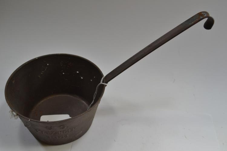 Vintage 1941 Us Katzinger Metal Ladle