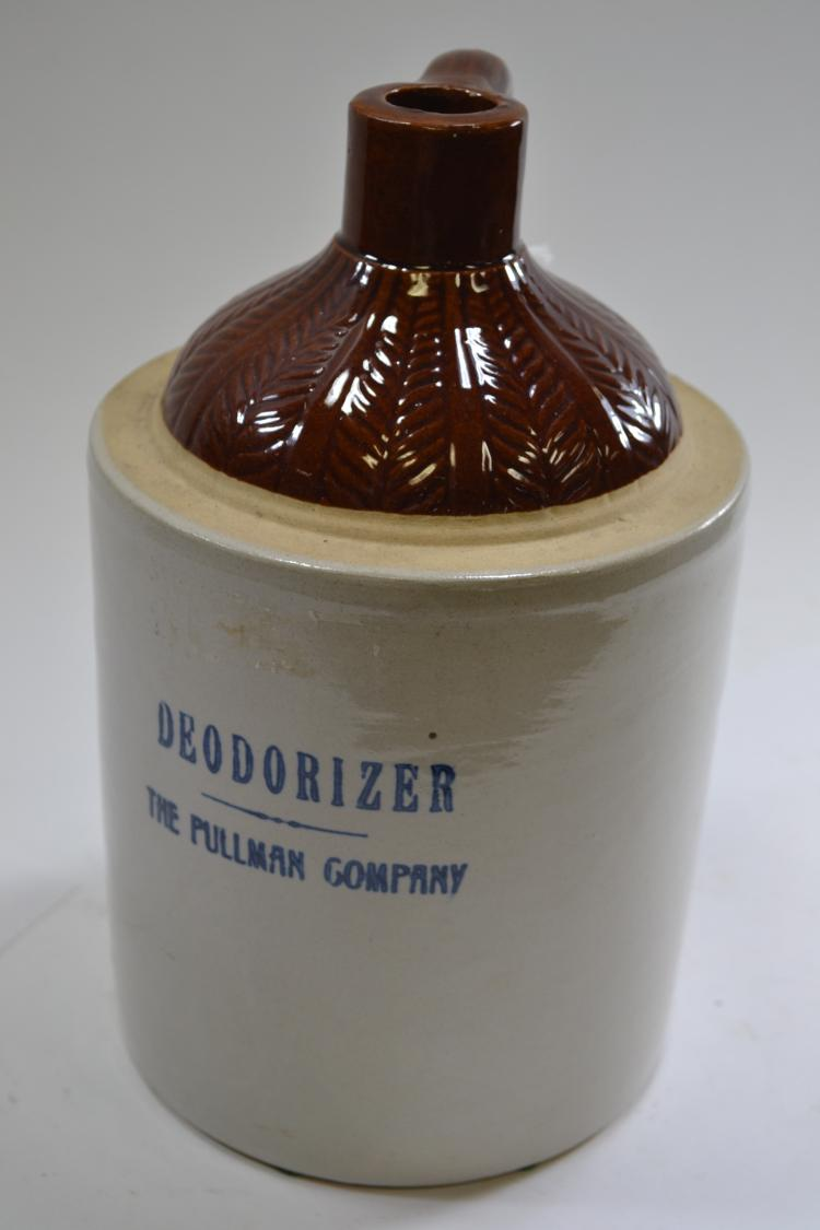 Antique Deodorizer Crock Jug