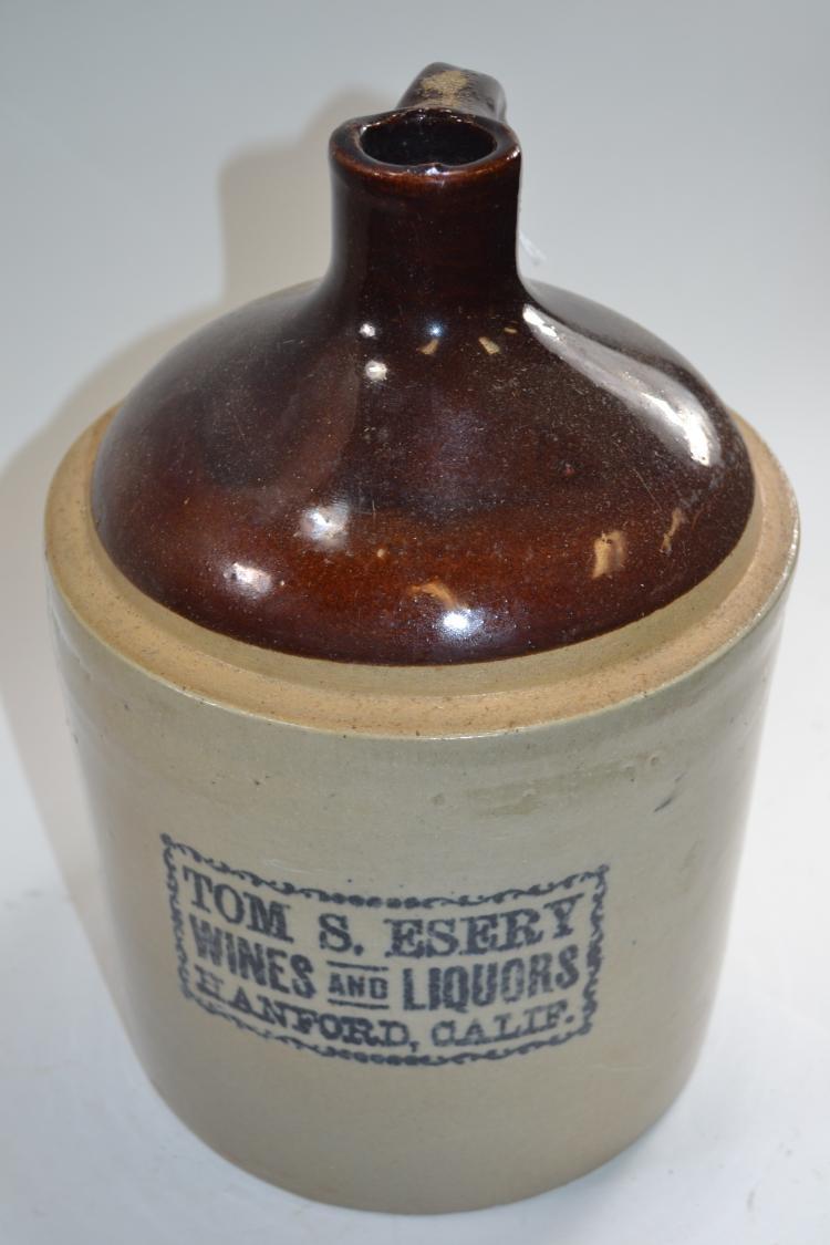 Antique Tom S Esery Crock Jug