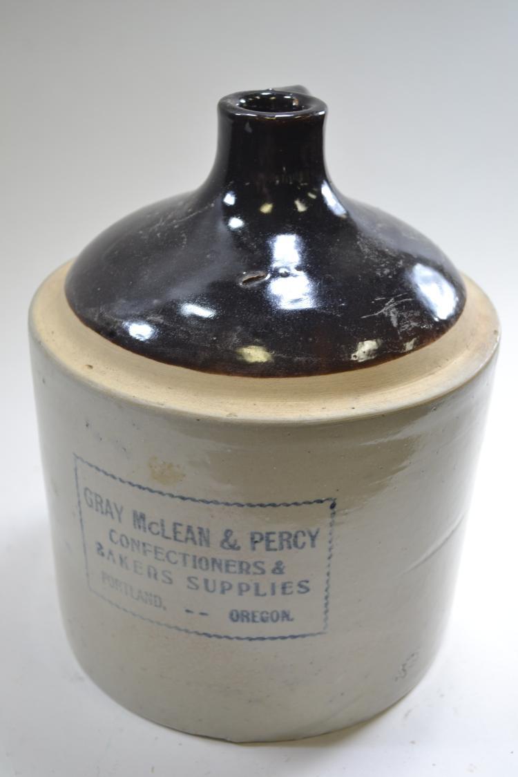 Antique Gray Mclean & Percy Crock Jug