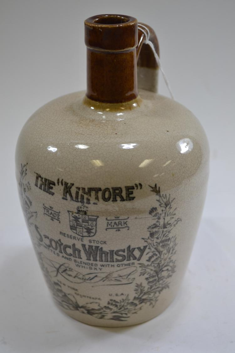 The Kintore Scotch Whiskey Crock Jug