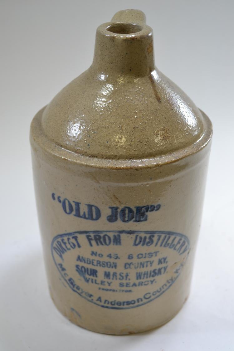 Antique Old Joe Crock Jar