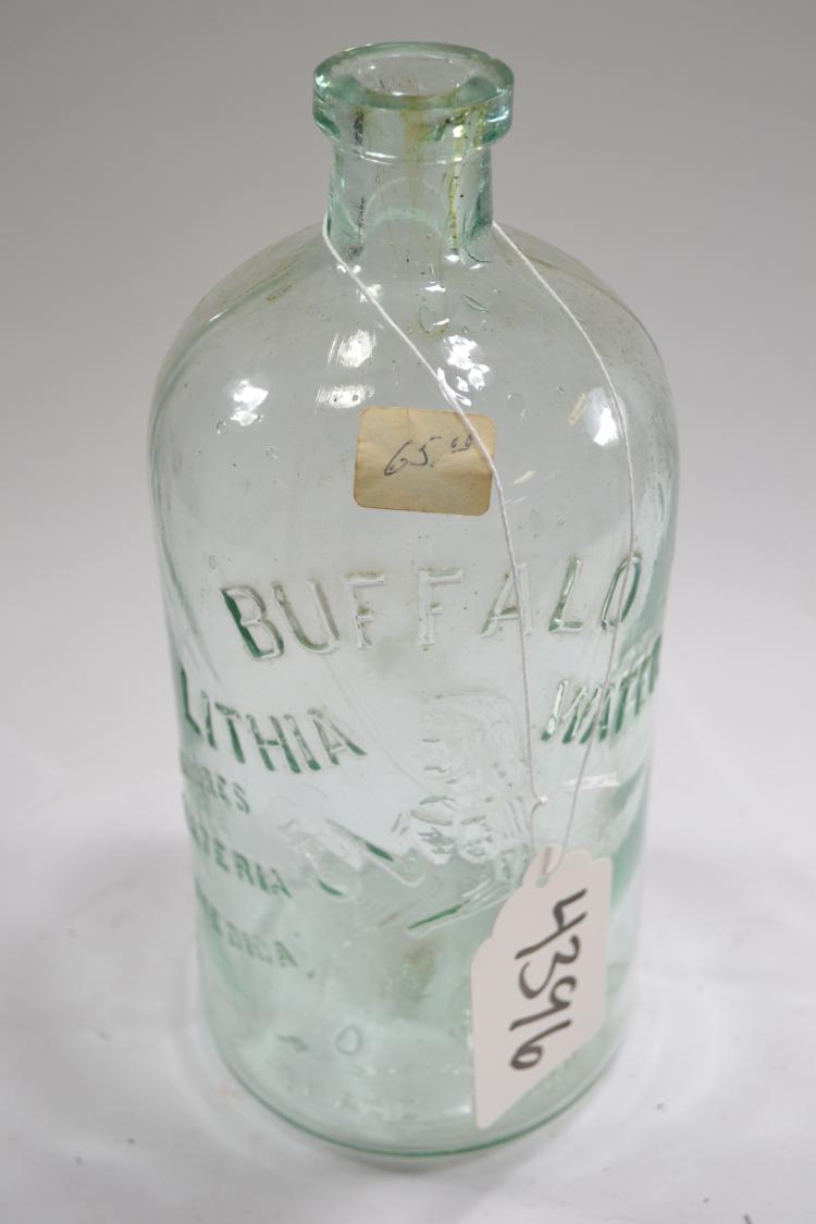 Antique Lithia Water Bottle