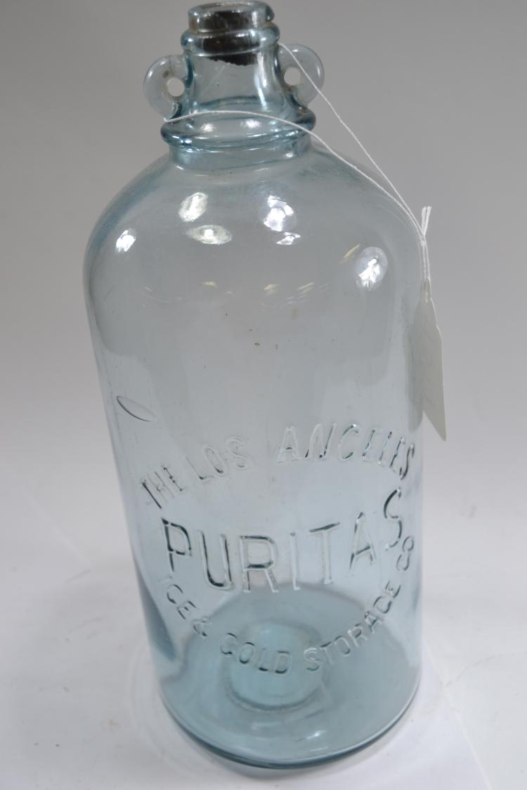 Antique Puritas Bottle