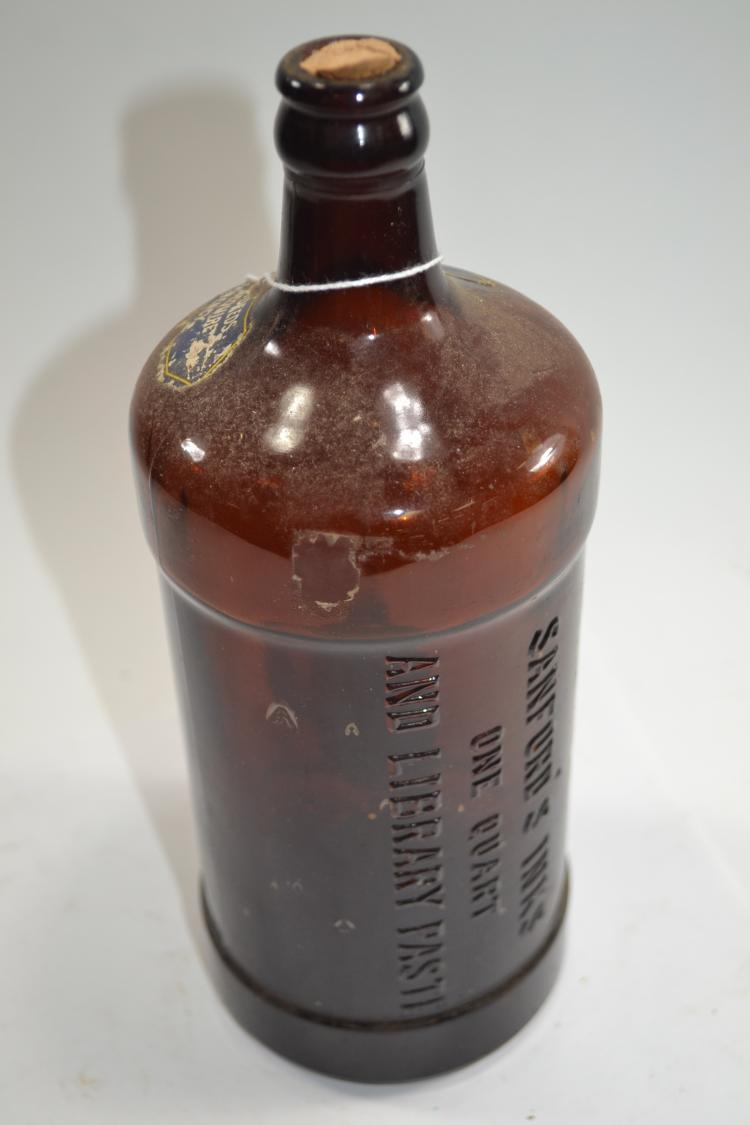 Antique Sanford Ink Bottle