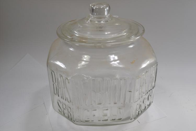 Antique Barsam Brothers Jar