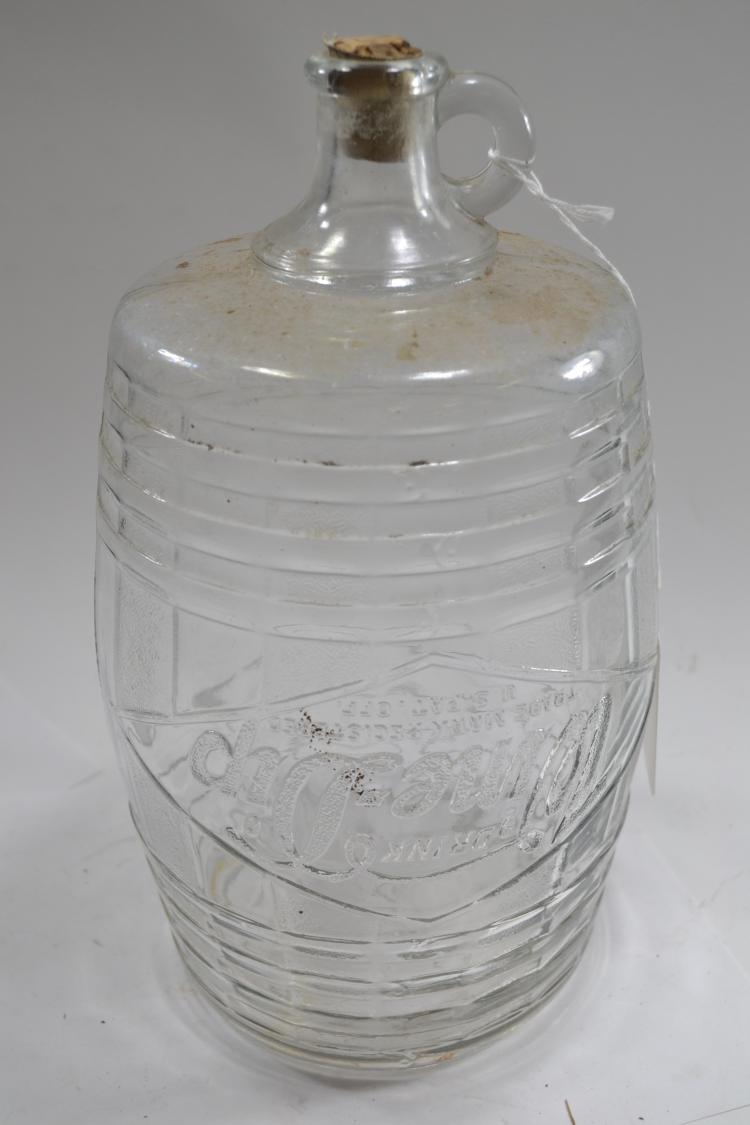 Antique Wine Dip Bottle