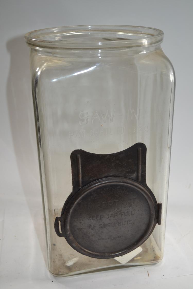 Vintage Saw In Jar