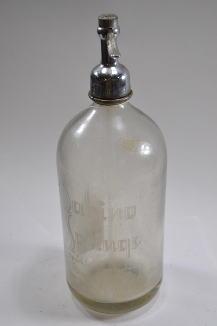Vintage Mohawk Beverages Incorporated Seltzer Bottle