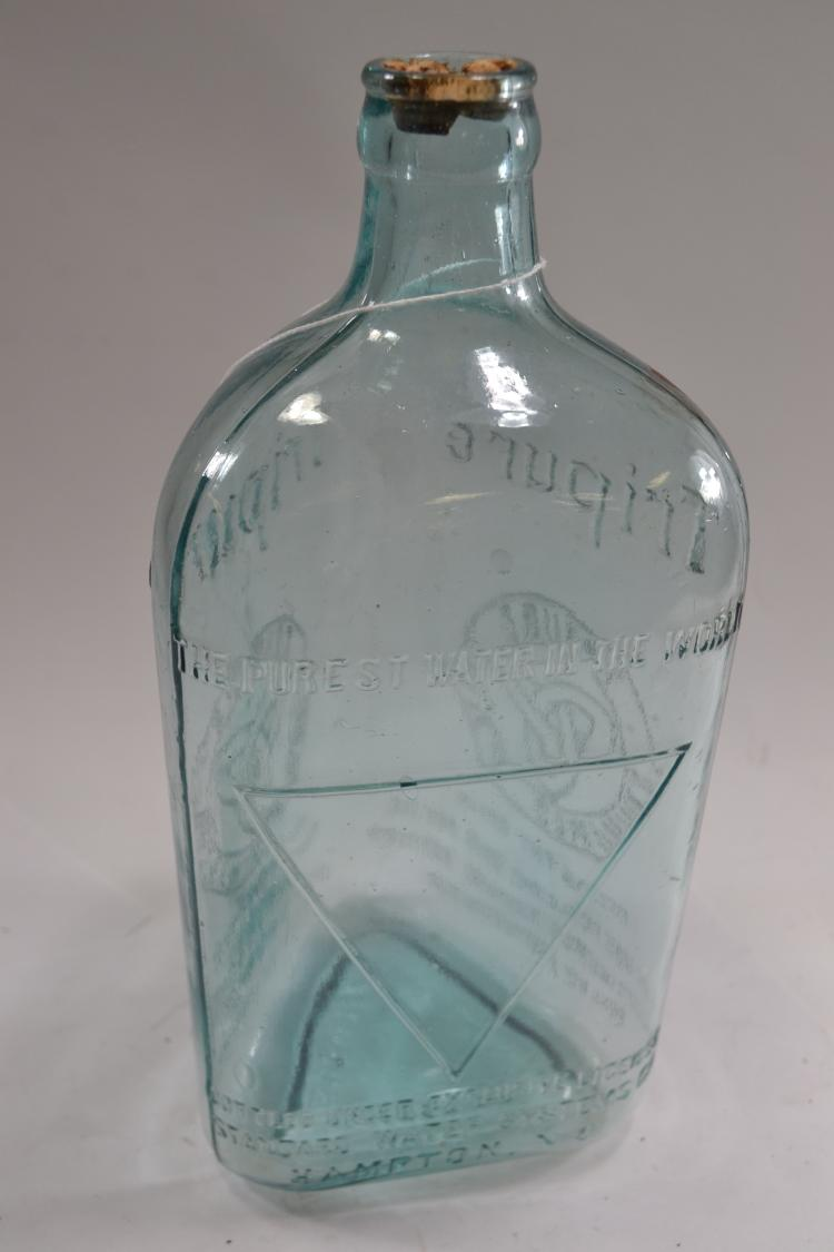 Antique Tripure Water Bottle