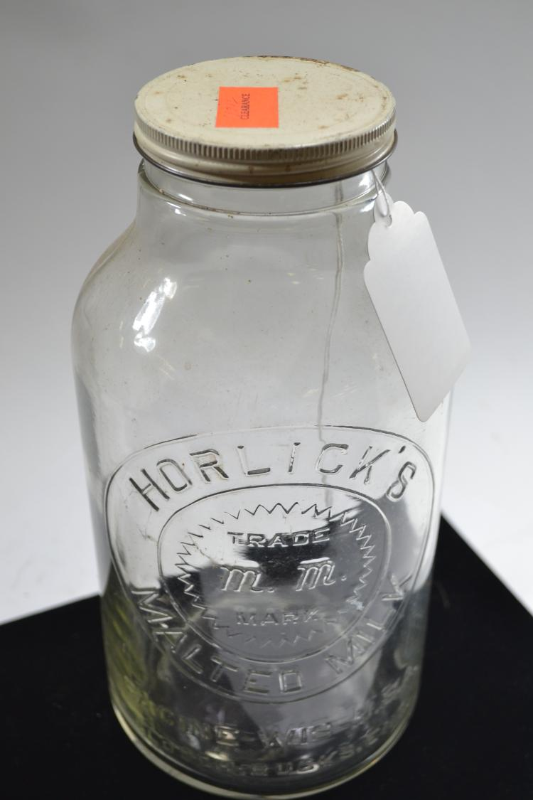 Vintage Horlicks Malted Milk Jar