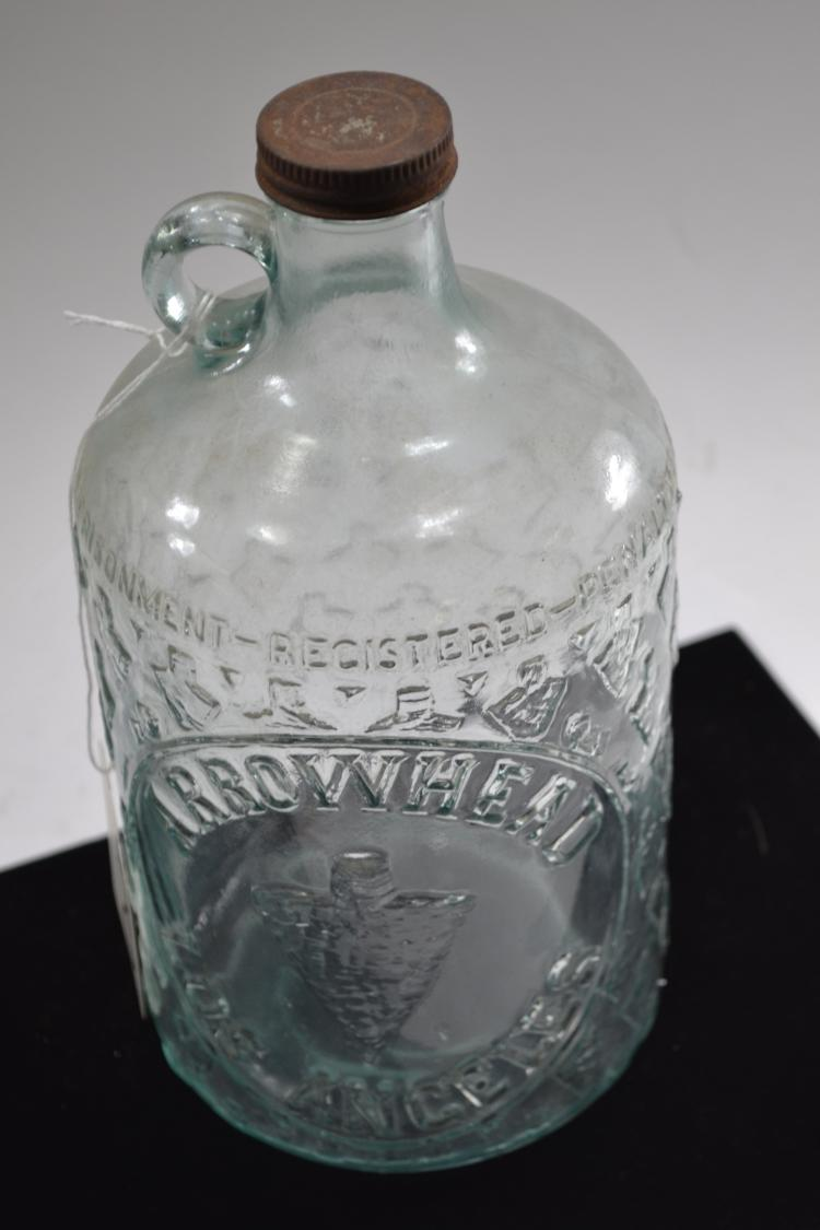 Vintage Arrowhead Los Angeles Water Bottle