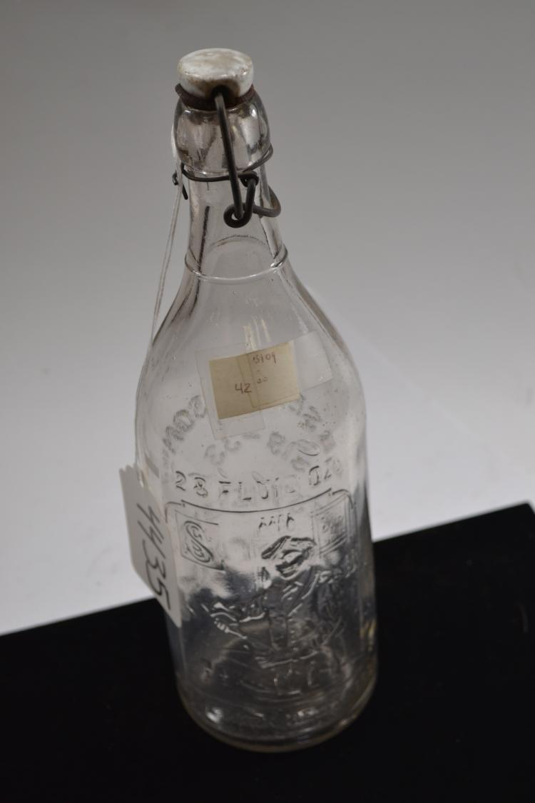 Vintage Gb Seelys And Sons Bottle