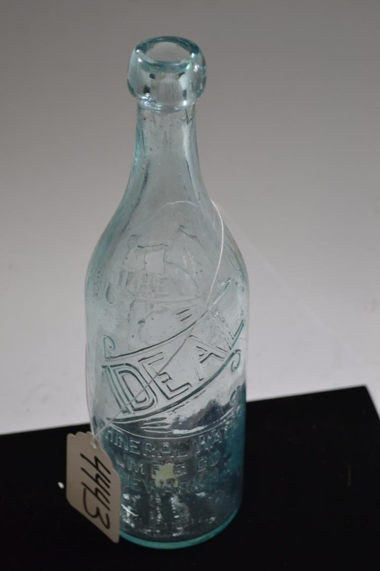 Vintage Idea Mineral Water Company Water Bottle