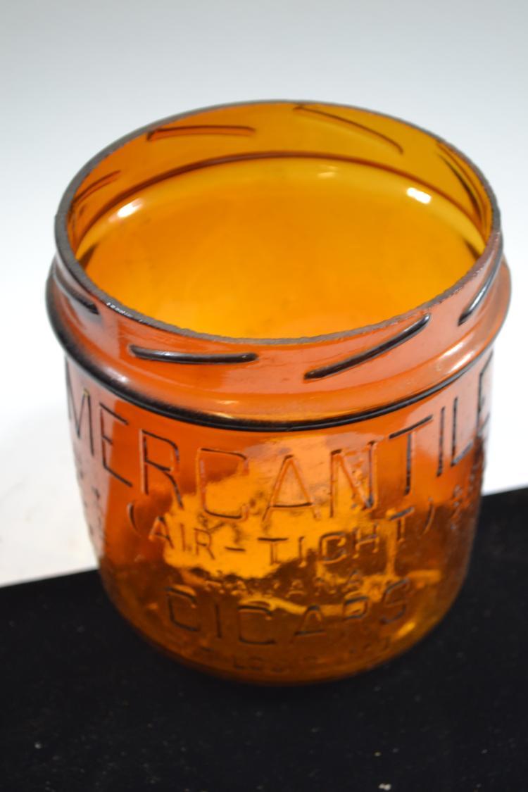 Vintage Horlick's Malted Milk Jar