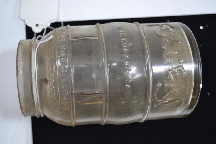 Vintage Folgers Jar