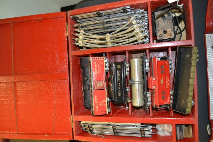 Vintage Marx 999 Train Engine New York Central O Scale Train Set
