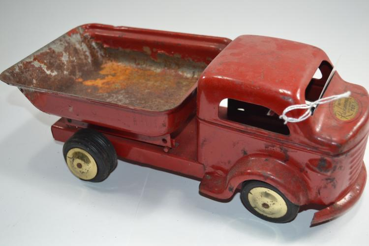 Antique Or Vintage Pressed Steel Richmond Scale Model Toy Dump Truck