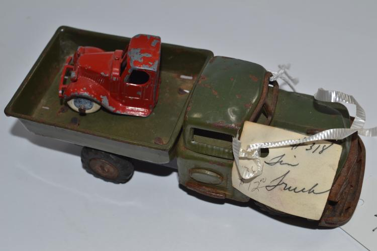 Vintage Tintoy Friction Miniature Toy Truck