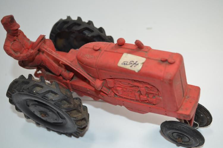 Antique Auburn Rubber Company Toy Farm Tractor