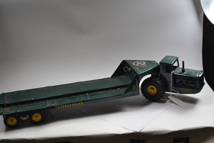 Vintage Nylint Toys Tournahauler Pressed Steel Equipment Hauler
