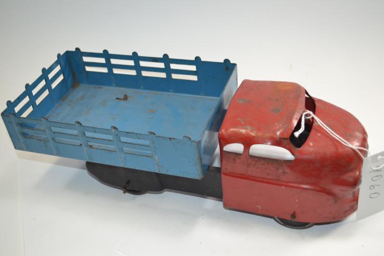 Vintage Wyandotte Pressed Steel Stake Bed Toy Truck