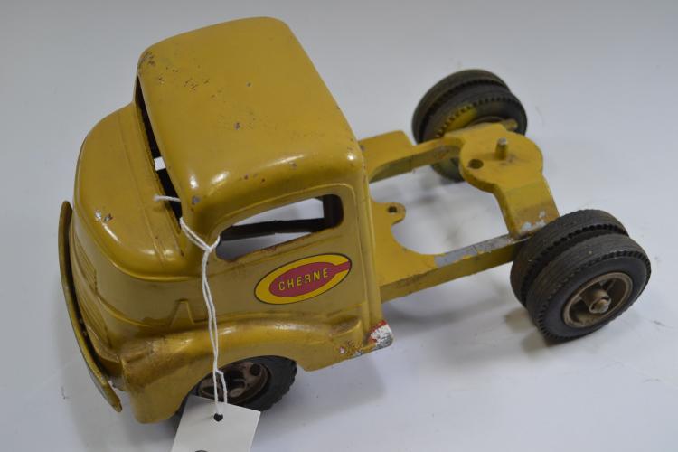 Vintage Smitty Toys Smith Miller Semi Toy Truck Cab