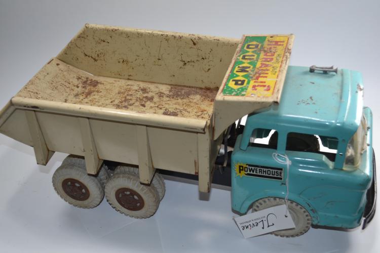 Vintage Lewis Mark Company Heavy-Duty Hydraulic Dump Truck