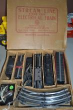 Vintage Marx Toys Streamline Steam Type Electrical Train Set
