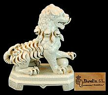 Bondia S.L. Ceramics Asian Kirin Sculpture