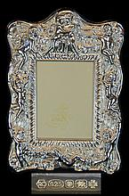 Carrs Sterling Silver Putti Photo Frame