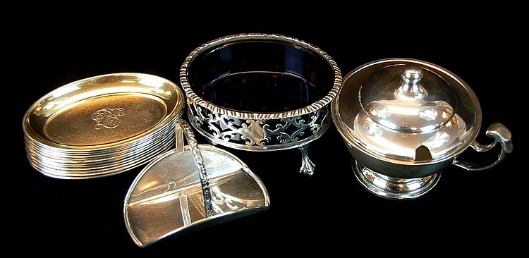 Sterling Silver Lot w/ Lunt, English Silver